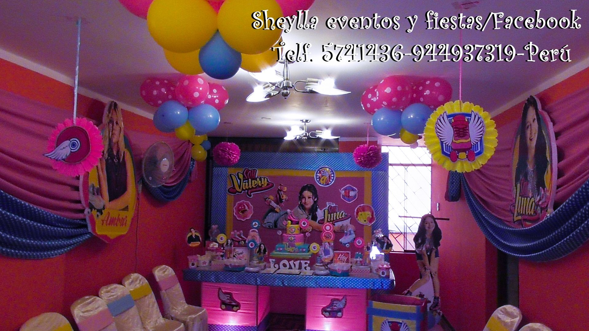 Decoraci n soy luna rosetas soy luna decoraci n de for Ver decoraciones