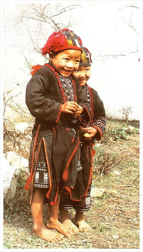 Yao Tribe Children