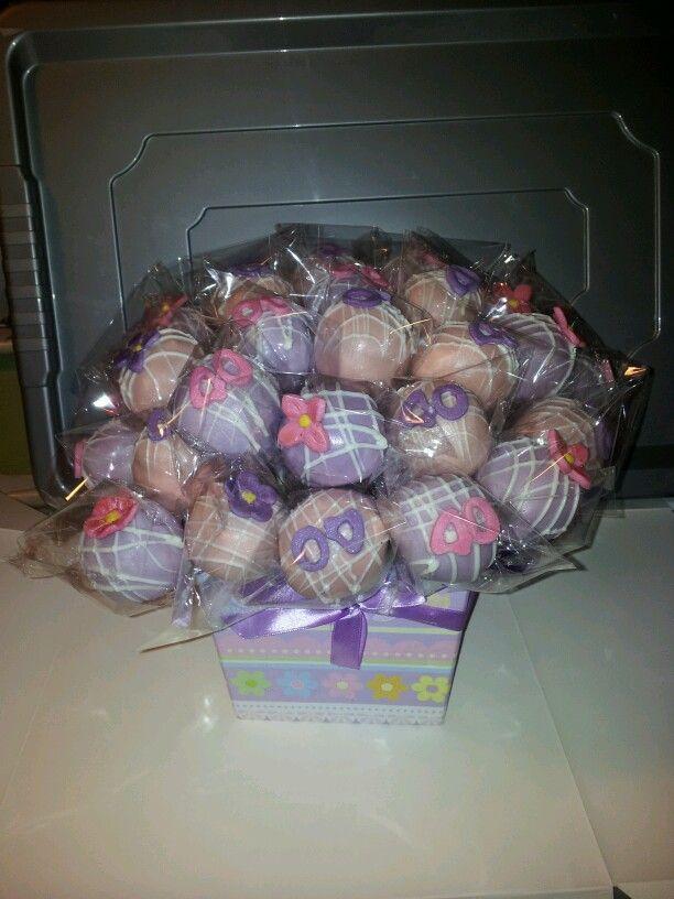 40th cake pop bouquet #cakepopbouquet