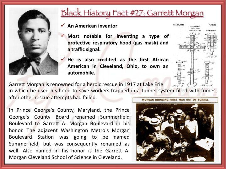 Rcf Black History Fact 27 Garrett Morgan Inventor Of The