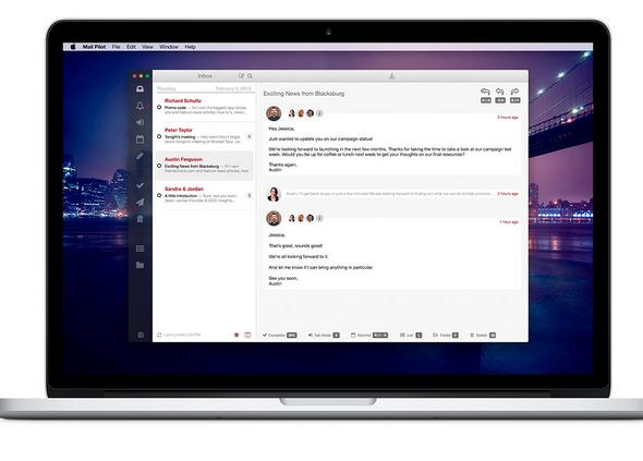 Mailpilot (20, Mac) is a beautiful desktop Gmail client