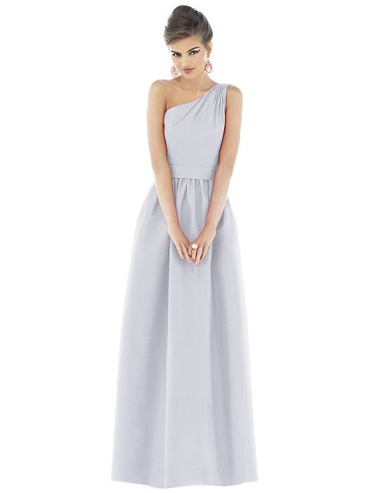 2e69c82d88b Bridesmaid dress in DOVE. Perfect light grey! Alfred Sung Style D529 http