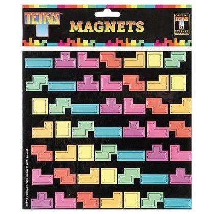 Tetris Magneetit - Tilaa nyt edulliseen hintaan! - AlphaGeek