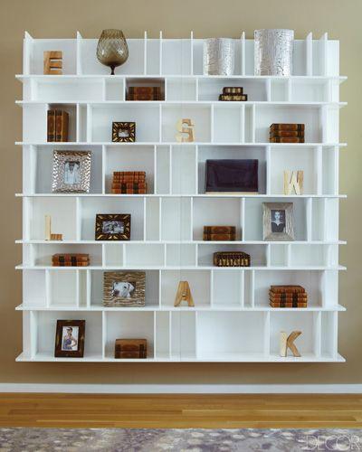 Lovely BoConcept Chaotic Bookcase In Elle Decor Magazine
