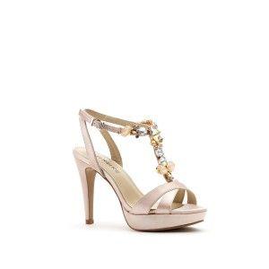 Sandalo classica dai dettagli preziosi