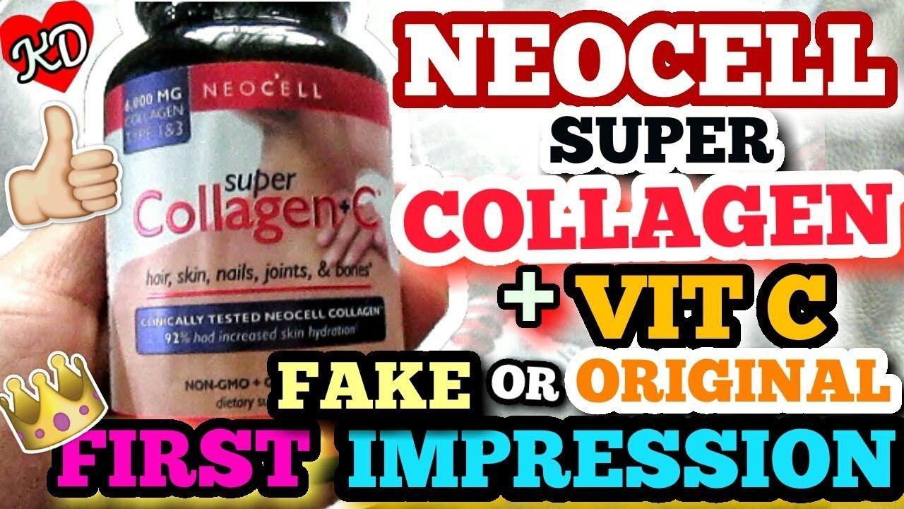 Neocell Super Collagen C First Impression Fake Or Original Neocell Super Collagen The Originals Collagen