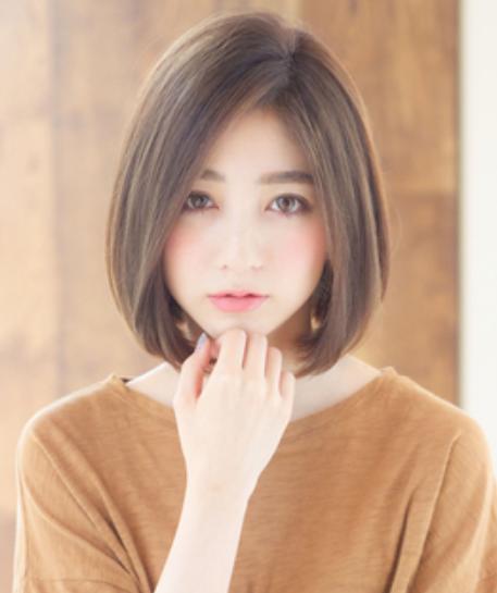 大人ボブ30代丸顔【2019】