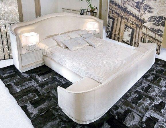 Visionnaire IPE Cavalli Satyricon Luxury Italian Designer Fabric - neue schlafzimmer look flou