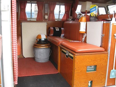 Retro Campers | Campers Bench Seat Camper Interior Ideas Photo Link Forum  Code