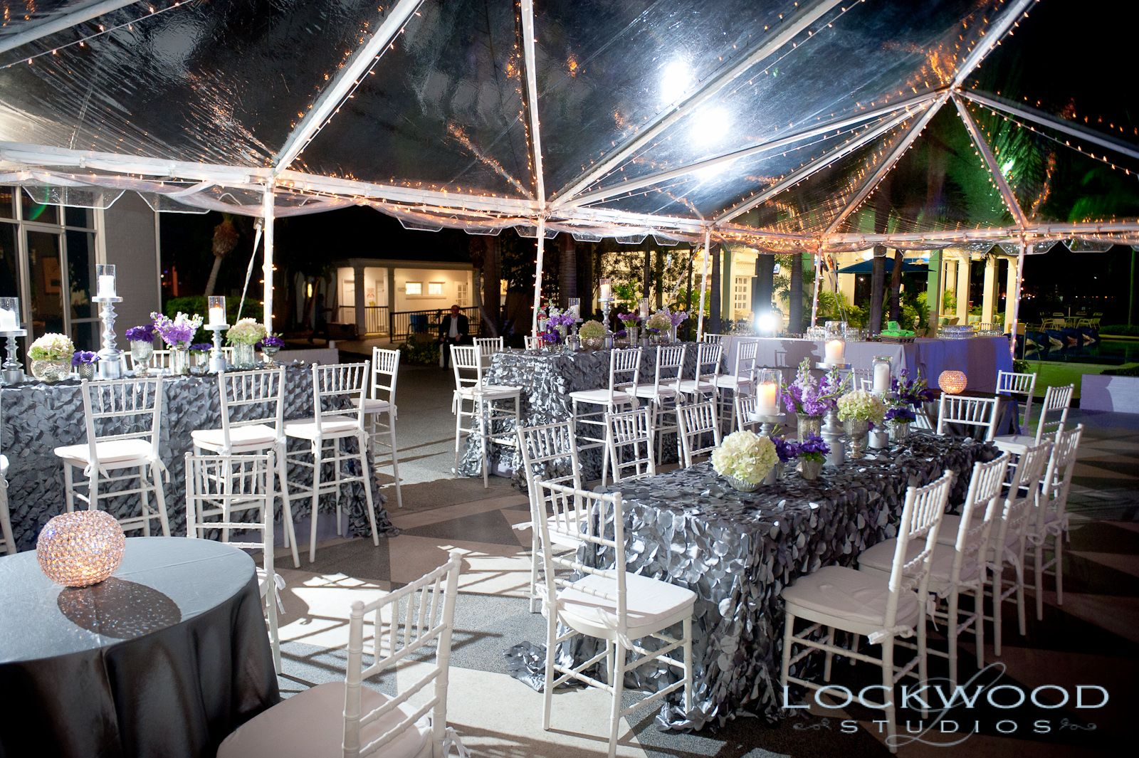 Clear Span Tent At The Tampa Yacht And Country Club By Botanica