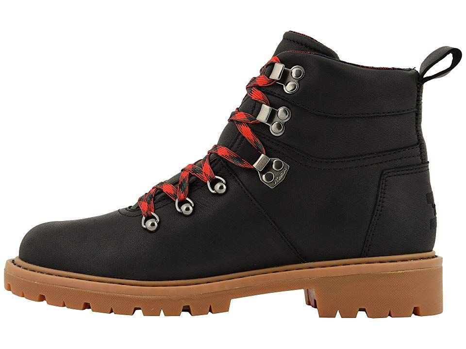 a3f4bc4c9b3 TOMS Summit Boot Women's Hiking Boots Black Waterproof Leather 2 ...