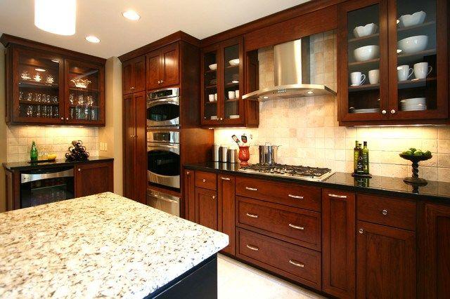 Small Kitchen Woodwork Designs Home Design Decor Reviews Kitchen