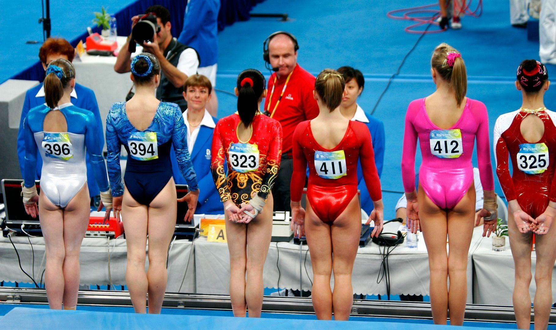 best nude female gymnastics butt