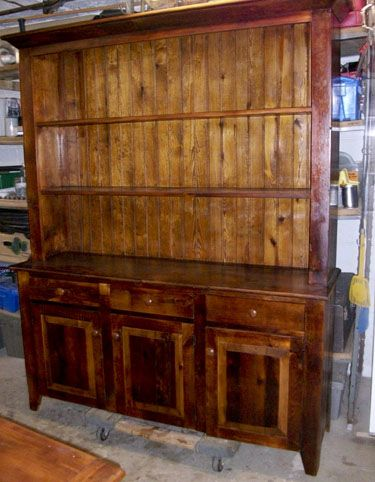 Barnwood Furniture From The Barn Reclaimed Hutches