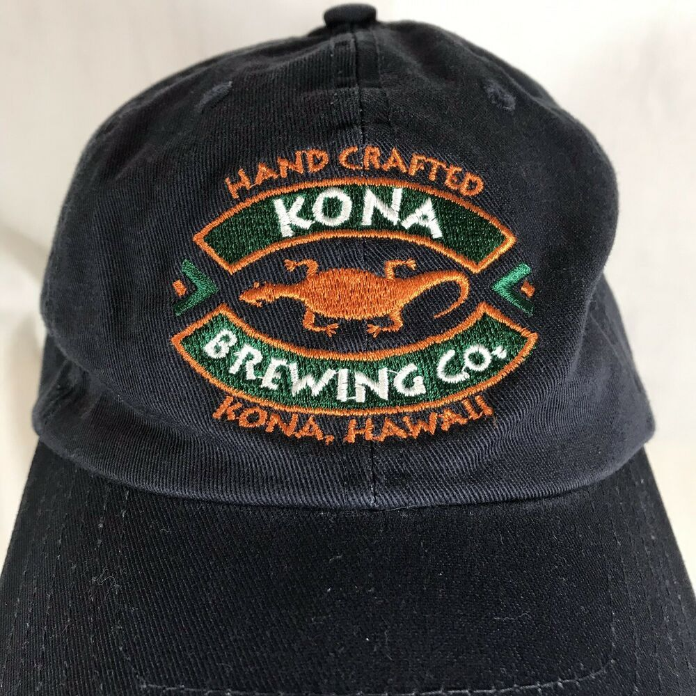 From Kona, Hawaii. Embroidered Logo with Lizard. Style