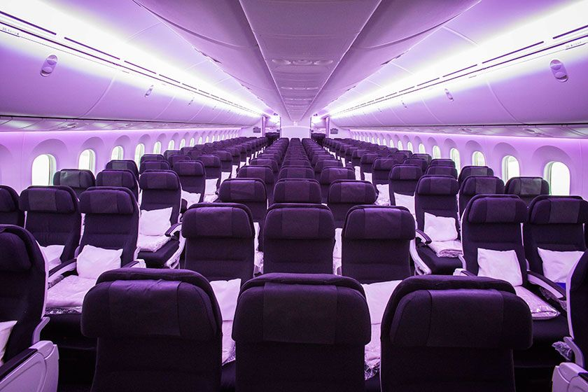 Interior of our new 787 9 dreamliner airnewzealand for Interior 787 dreamliner
