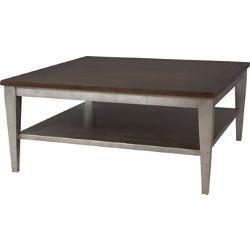 Magnificent Lorts 3642 Square Cocktail Table W 42 X D 42 X H 19 Creativecarmelina Interior Chair Design Creativecarmelinacom