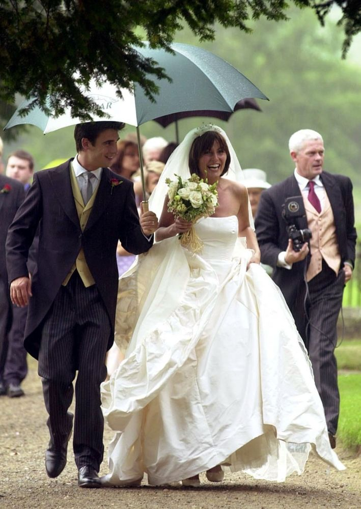 Davina McCall and Matthew Robertson, 29th June 2000 ...