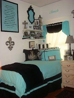 Dorm Room Tiffany Blue