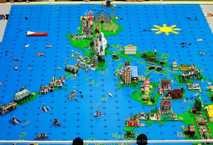 Lego map of the Philippines  32 x 20 ft    Mapping Our Worlds     Lego map of the Philippines  32 x 20 ft