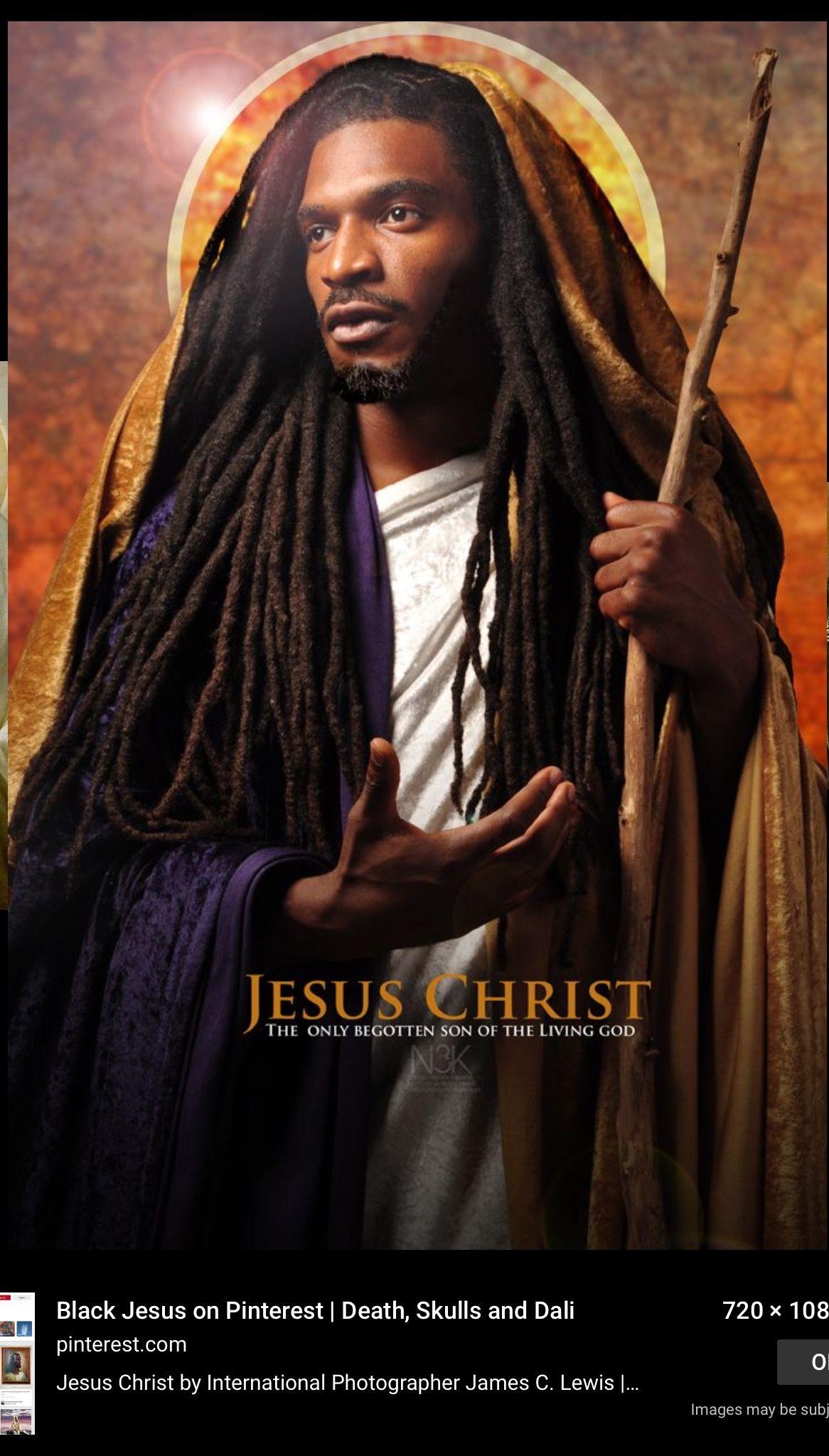 Pin By Darlene Twymon On Passion Of Christ Black Jesus Black