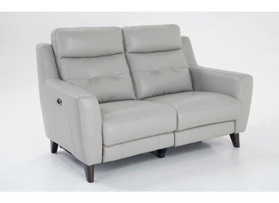 Stratus Leather Power Reclining Loveseat Reclining