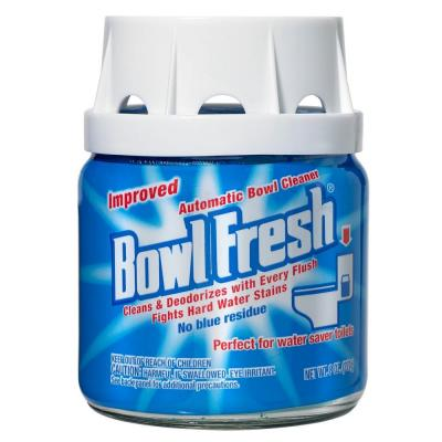 Bowl Fresh 8 Oz Automatic Toilet Bowl Cleaner Jar 6 Pack Blue Toilet Bowl Cleaning Chemicals Hard Water Cleaner