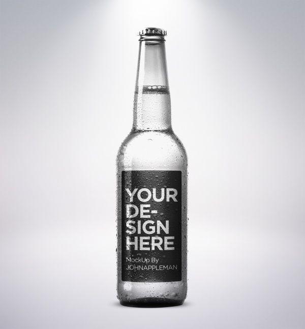 Bottle Mockup, Free Mockup, Bottle