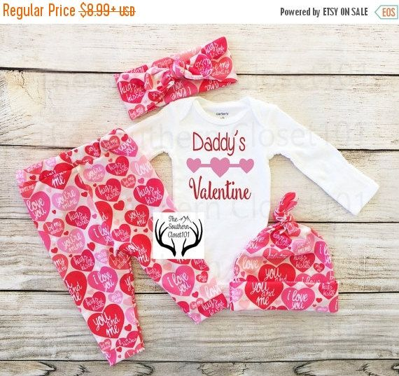 LAST CHANCE SALE ends2-18 Girls First Valentine\'s Day Outfit ...