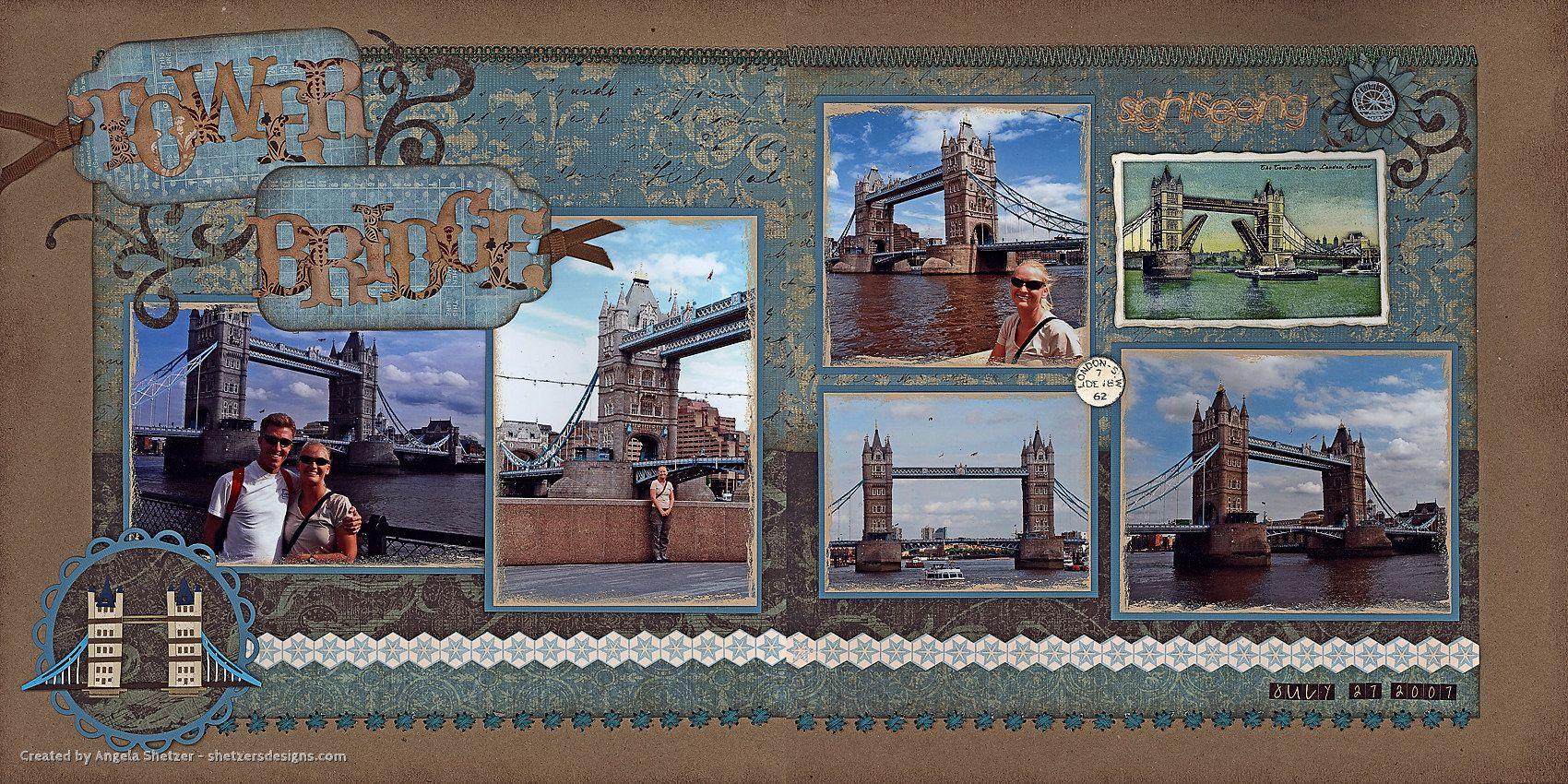 Scrapbook ideas england - Bridge Scrapbook Scrapbook Uk Scrapbook London Scrapbooking Europe England Scrapbook Scrapbooking Ideas Britain Layouts Scrap Europe Europe Album