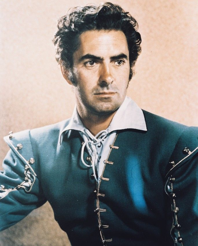 Captain from Castile Tyrone Power movie poster print