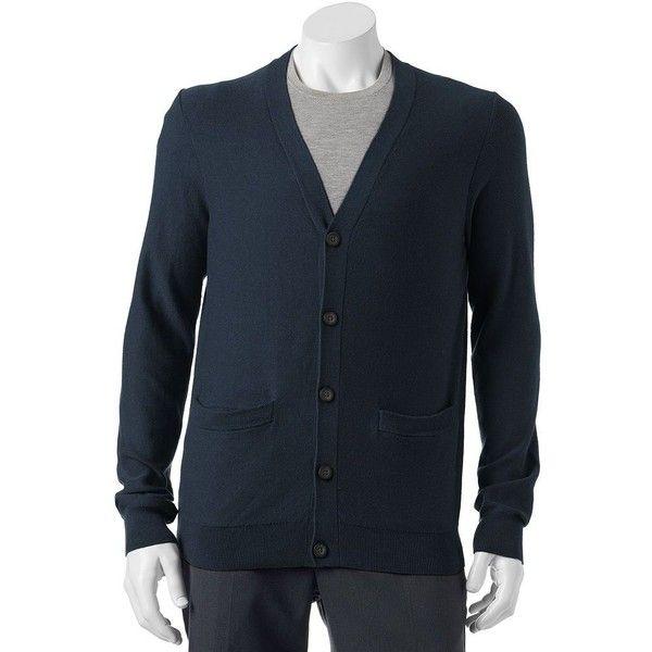 Men s SONOMA Goods for Life® Classic-Fit Fine Gauge Textured ... 2c0089cb5