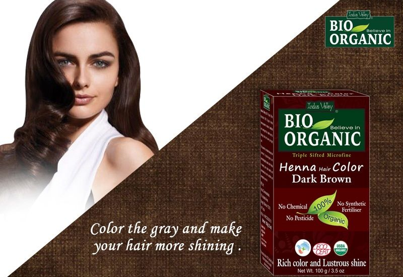 Indus-valley offers best Herbal Henna hair color, which acts ...