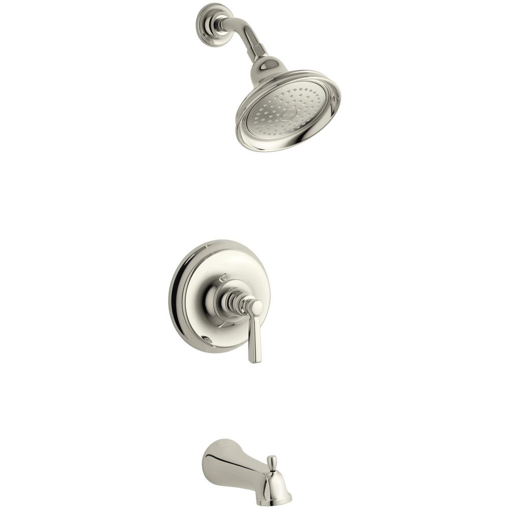 KOHLER Bancroft Single-Handle 1-Spray 2.5 GPM Tub and Shower Faucet ...