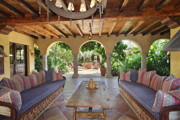 Barry estates rancho santa fe hacienda home design for Hacienda design ideas