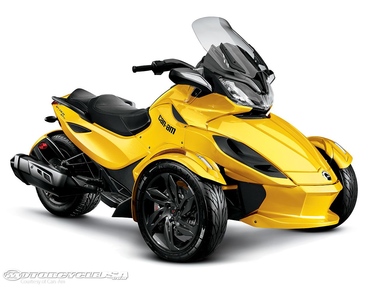 Moto bike modification can am spider motorcycle offers new sensation