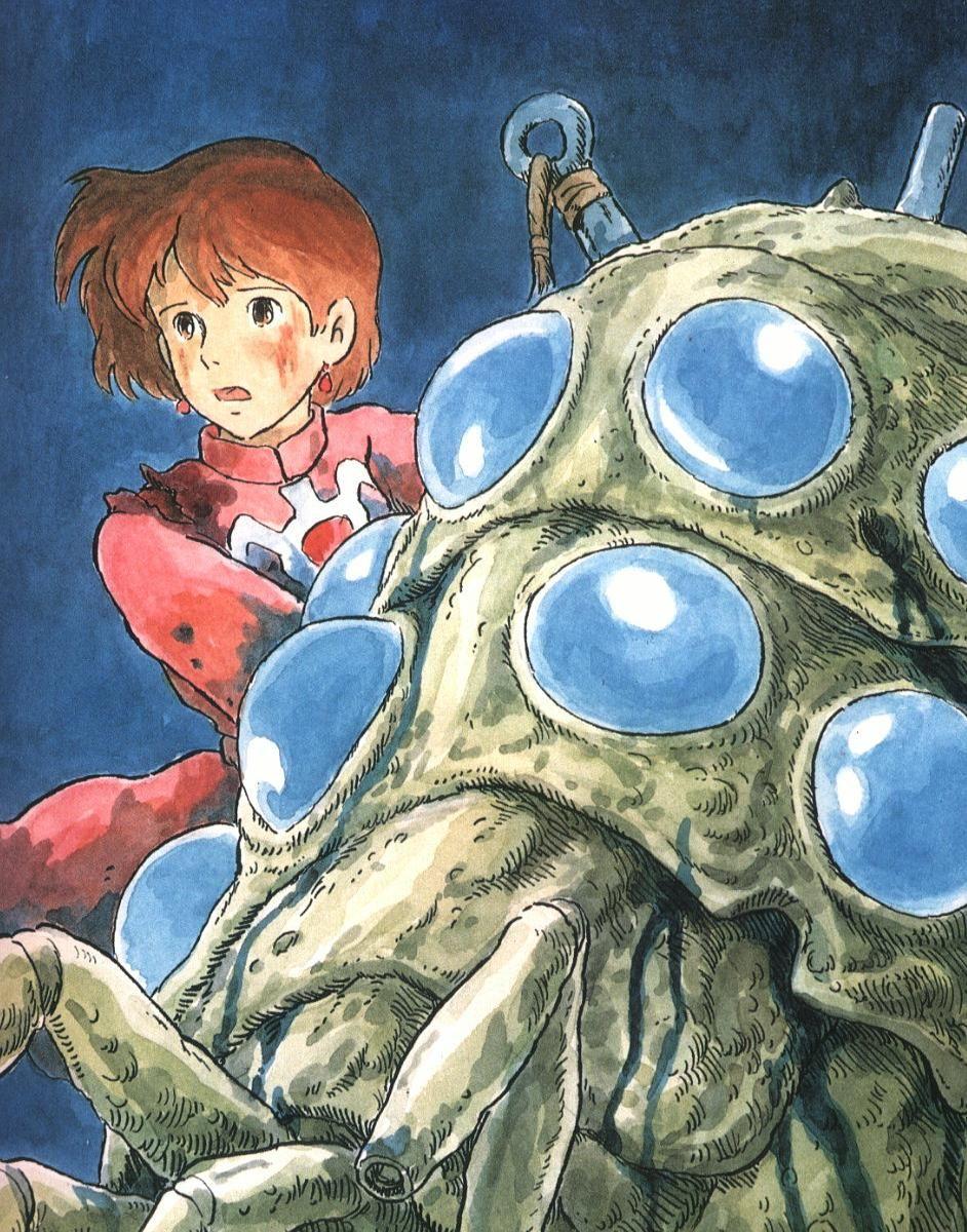 no147 ナウシカのフィギュア Studio Ghibli ジブリ