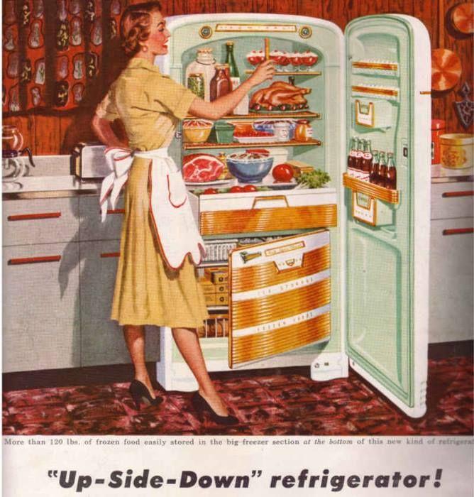 Amas de casa de los a os 50 60 amas de casa retro - Cocinas retro anos 50 ...