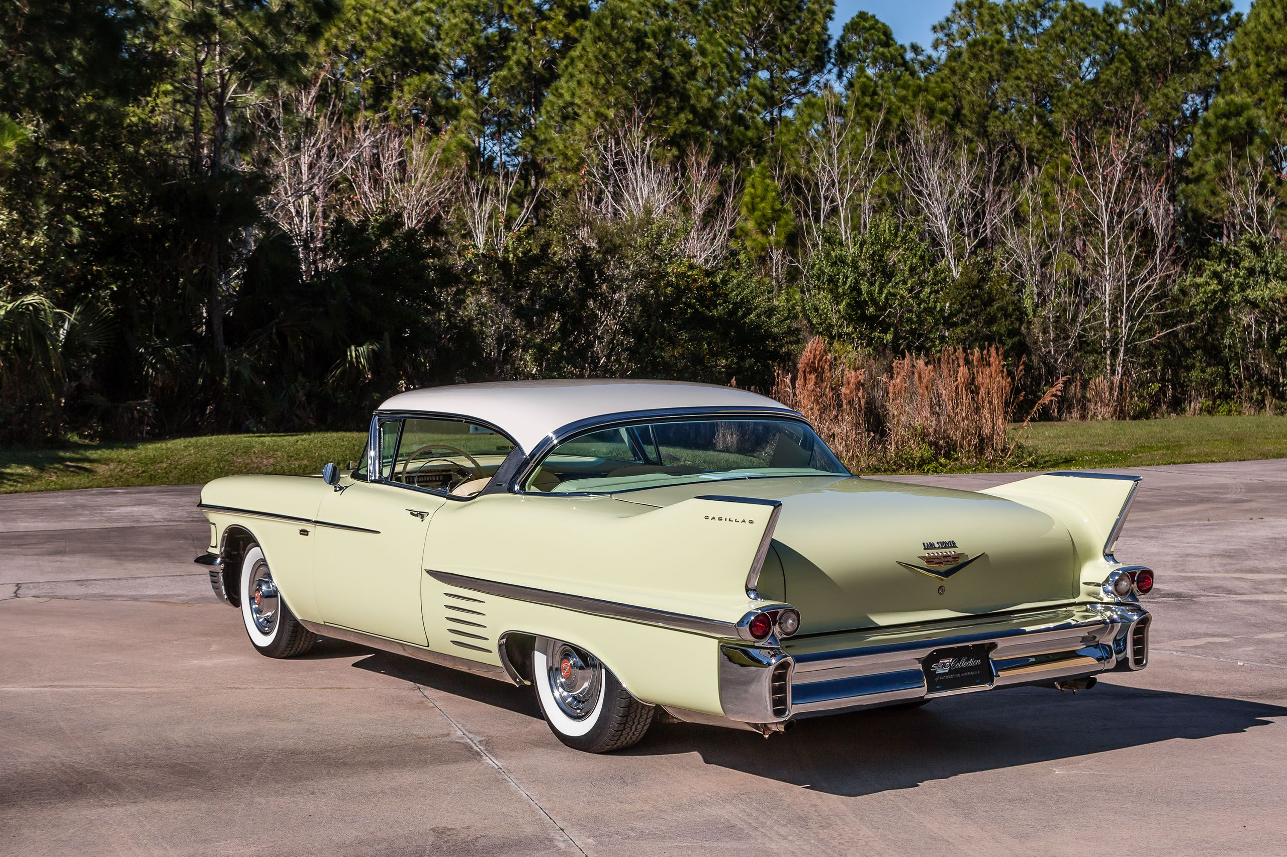 58 cadillac coupe deville