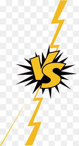 Vector Png Lightning Lightning Lightning Border Contrast Vs Lightning Vector Contrast Vector Box Vector Logo Design Art Geometric Graphic Pop Art Background