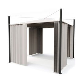 Tonnelle Blooma Pampero 3 X 3 M Blanche Castorama Castorama France Stores