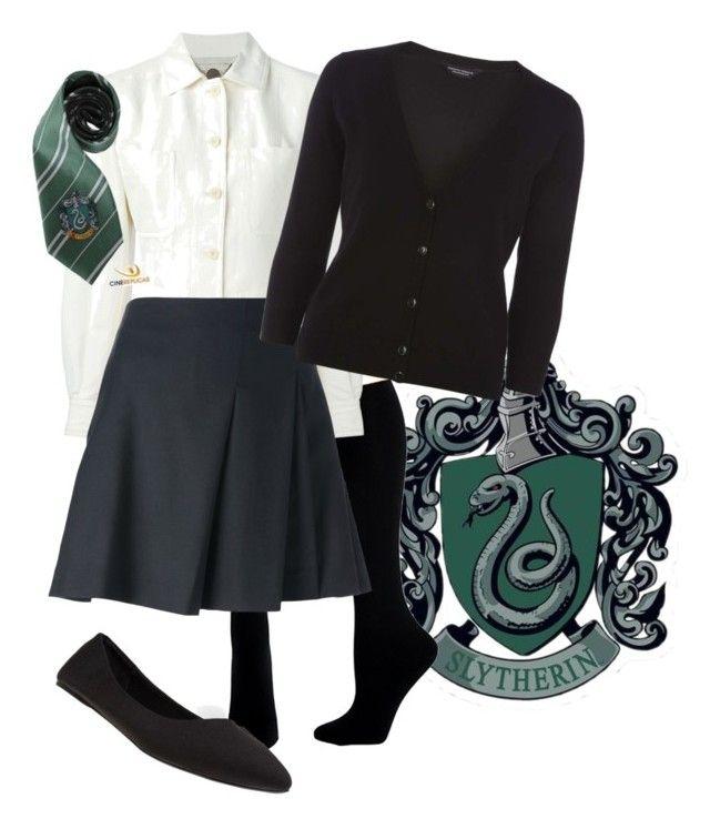 Slytherin Uniform | Harry Potter | Slytherin clothes, Harry