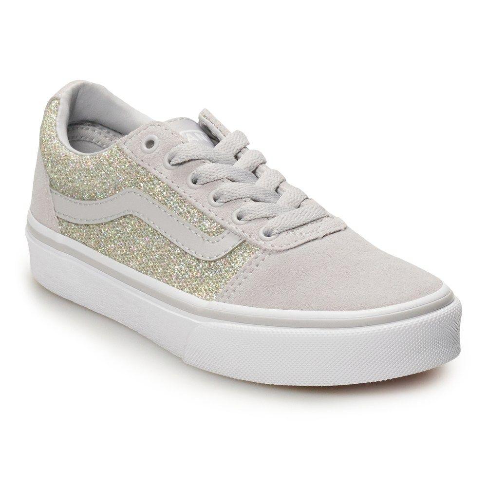 Vans Ward Glitter Girls' Skate Shoes