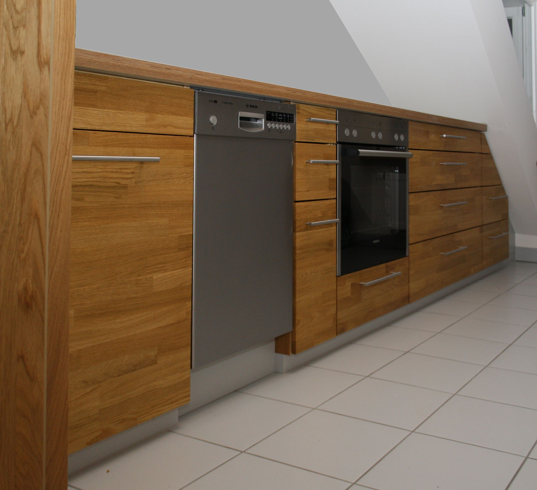 Vollholzkuche Kuche Planen Kuchendesign Holz