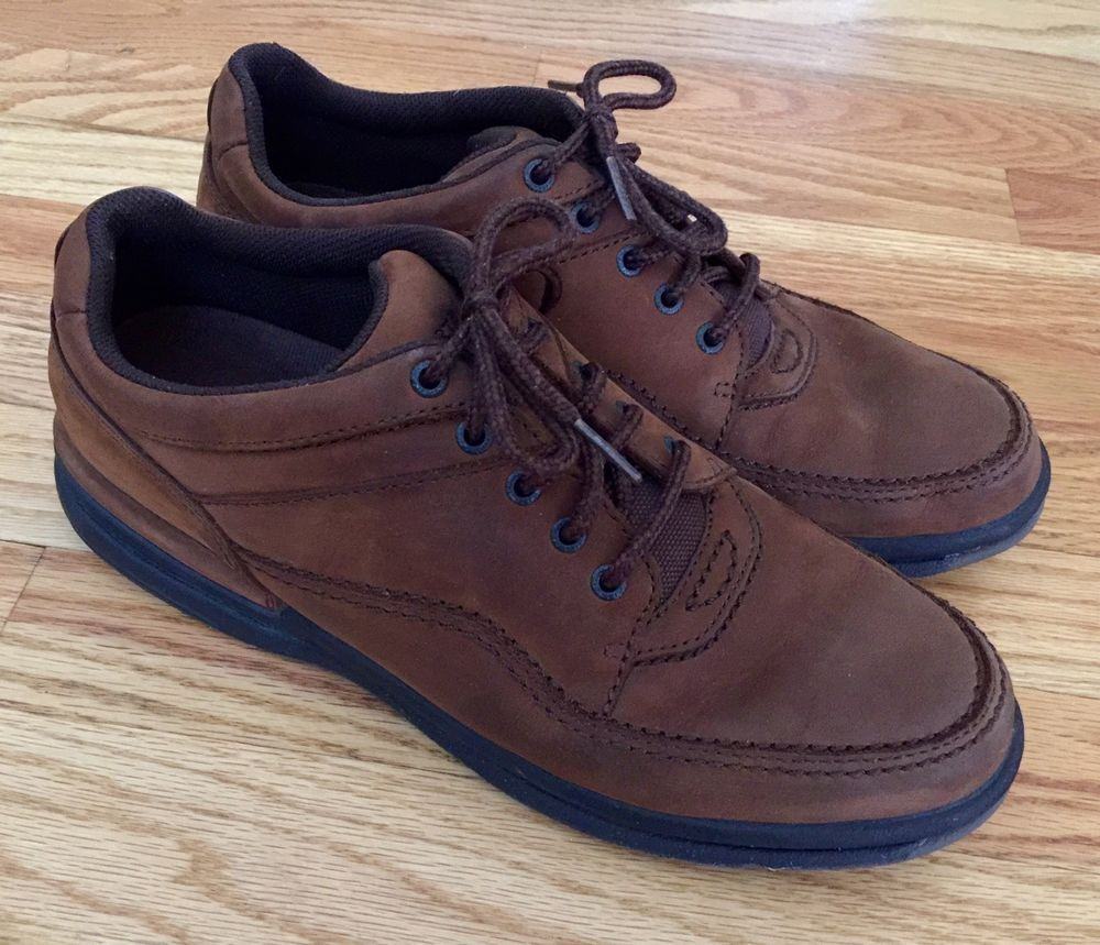 Womens Rockport Walking Shoes SZ 11 M Chocolate Nubuck World Tour Classic  WWT17 | eBay