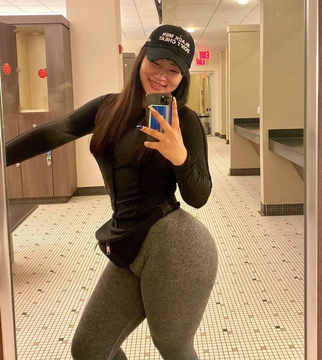 Black Asian Booty