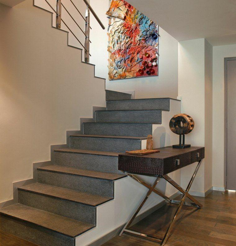 D co cage escalier 50 int rieurs modernes et - Decoration escalier interieur ...