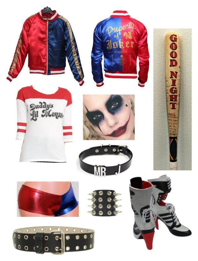 """""""Harley Quinn"""" by ravendawn1 ❤ liked on Polyvore featuring Alexander McQueen"""