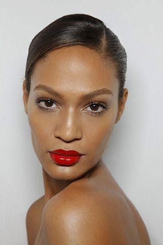 Joan Smalls Red Lipstick Joan Smalls Beauty Crush Beautiful Lips