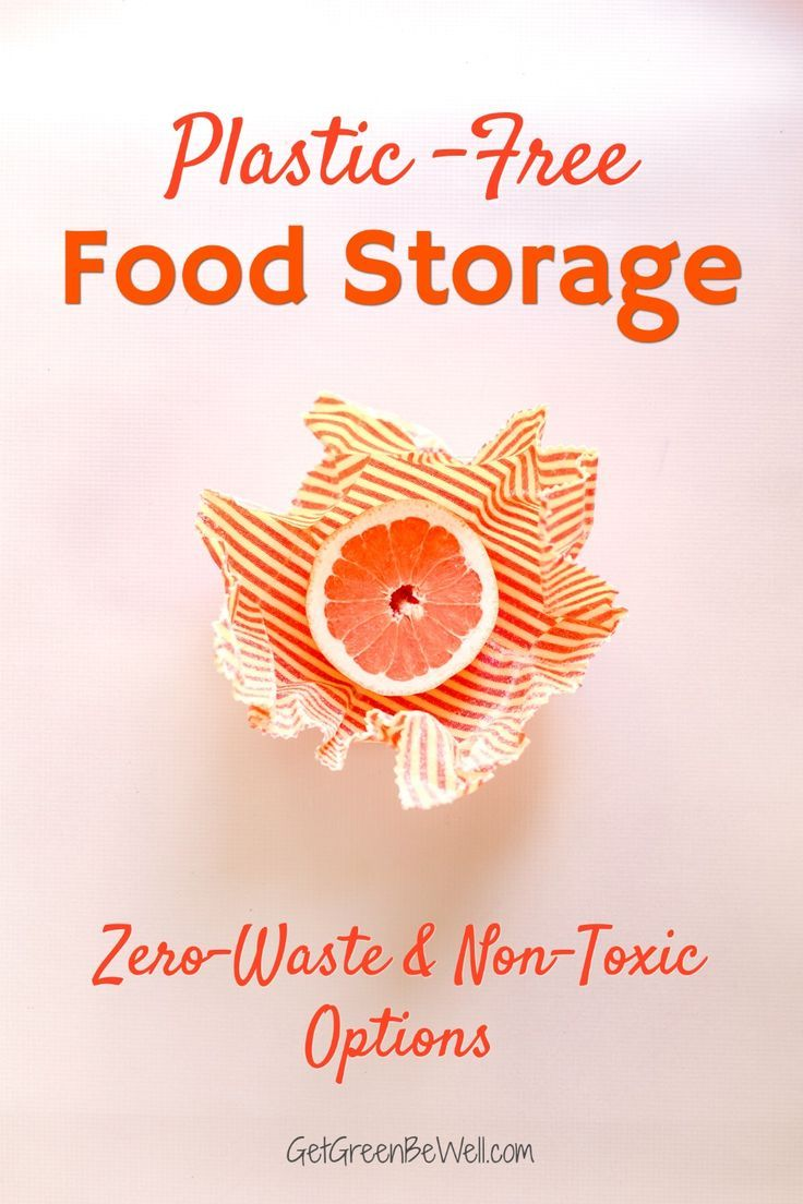 Store your food safely without chemical exposure. These natural and nontoxic food storage items will keep leftovers safe without leaching chemicals. Also great zero waste ideas to keep food in the pantry or refrigerator. #plasticfree #nontoxicliving #zerowaste #nontoxic #healthyhome #wellness